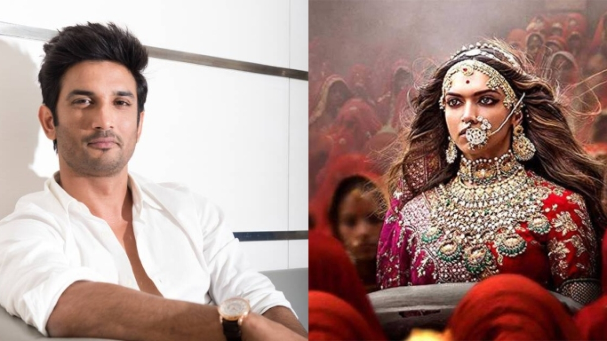When Sushant Singh Rajput removed Rajput from his name to support Sanjay Leela Bansali, Deepika Padukone's 'Padmaavat'