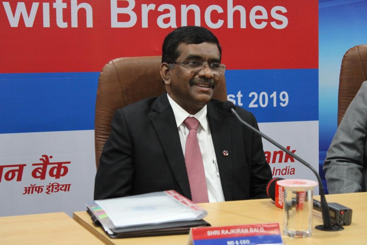 Rajkiran Rai G, MD and CEO, Union Bank of India