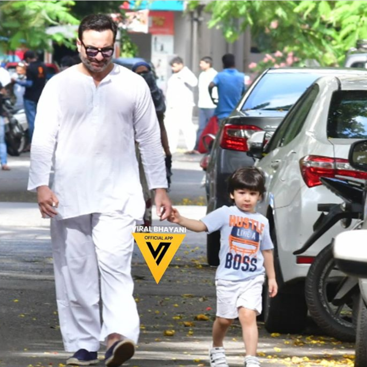 Immune to coronavirus? Saif Ali Khan and son Taimur spotted in the streets without masks amid COVID-19 threat