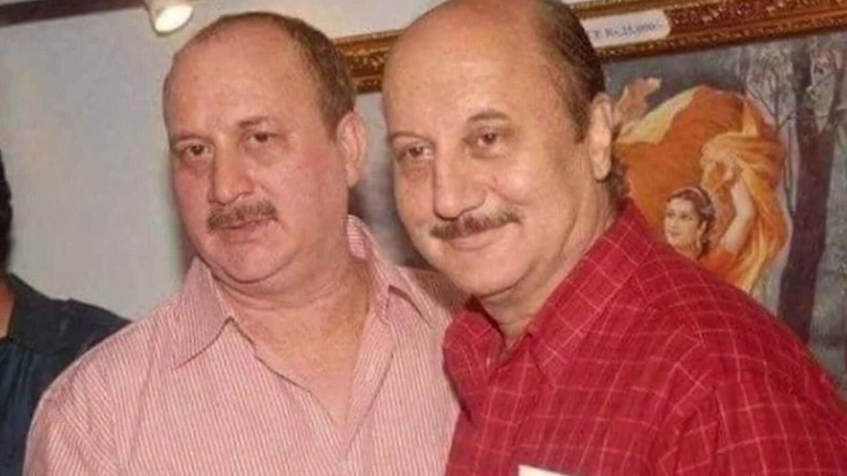 Watch: Anupam Kher and brother Raju's 'haircut' video reminds the internet of Fred and George from 'Harry Potter'