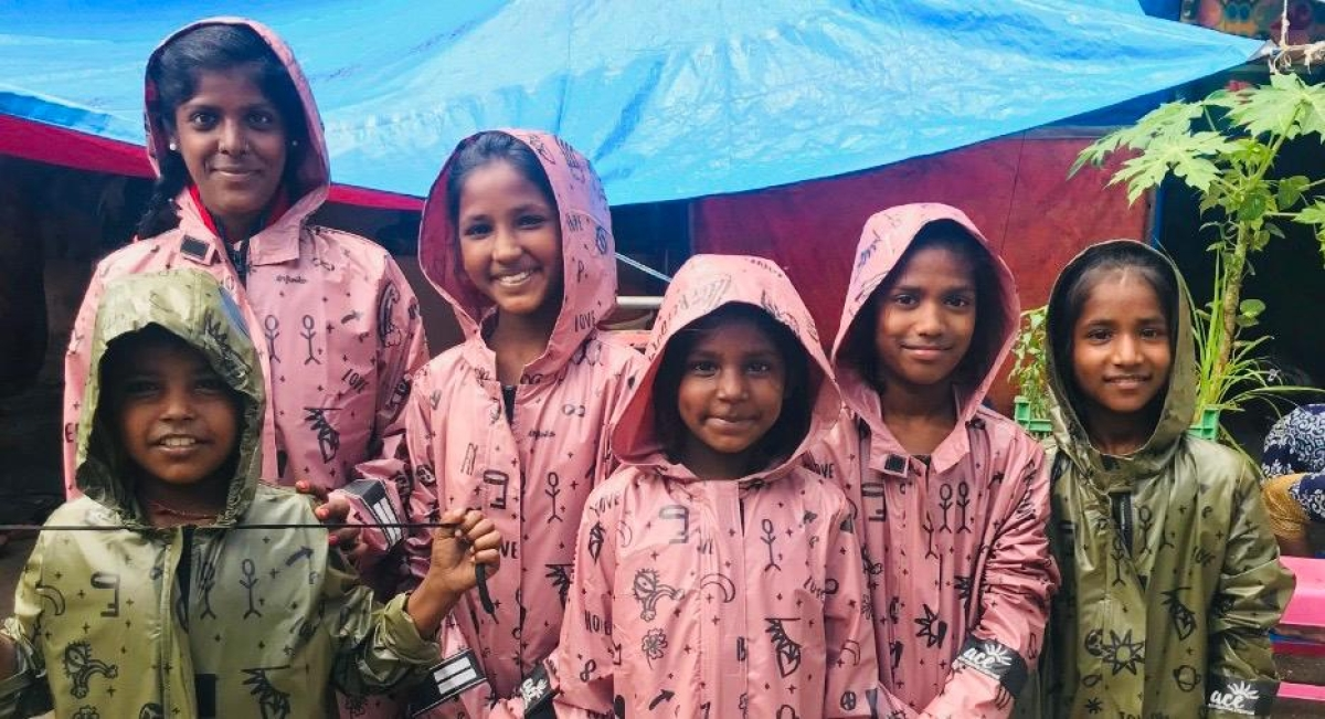 Cyclone Nisarga aftermath: How these Mumbai school kids started a raincoat distribution service for  homeless children