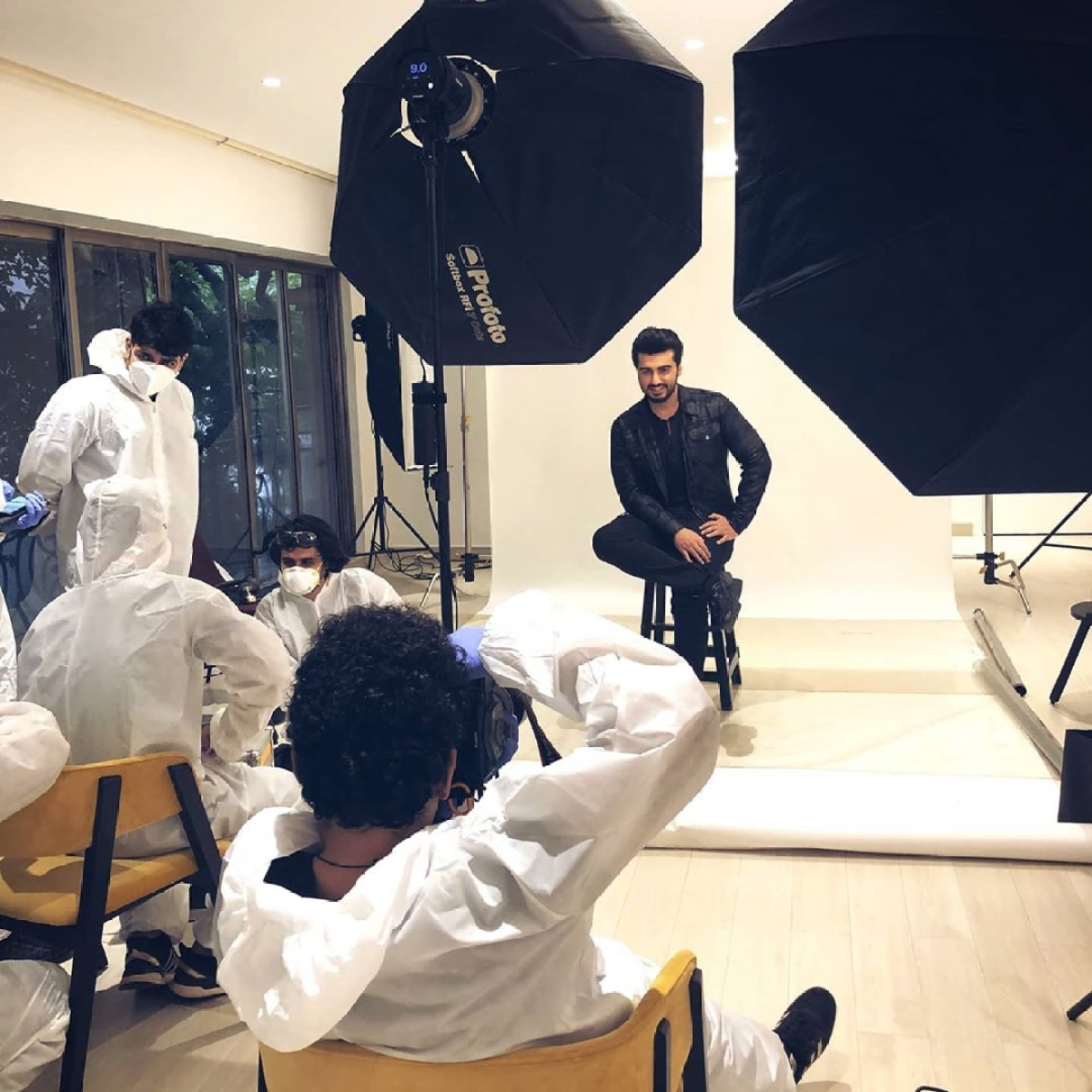 Arjun Kapoor accepts 'new world order' as he resumes work amid COVID-19 pandemic