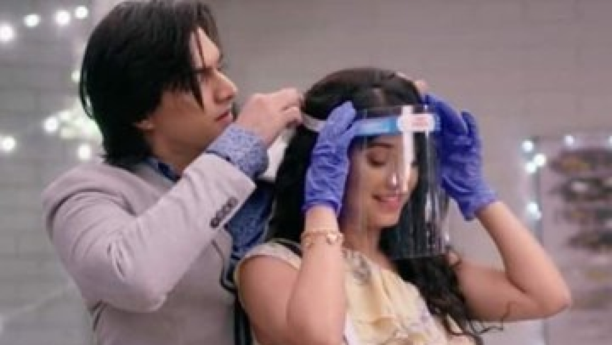 'Yeh Rishta Kya Kehlata Hai' characters wearing masks, shields leaves internet in splits