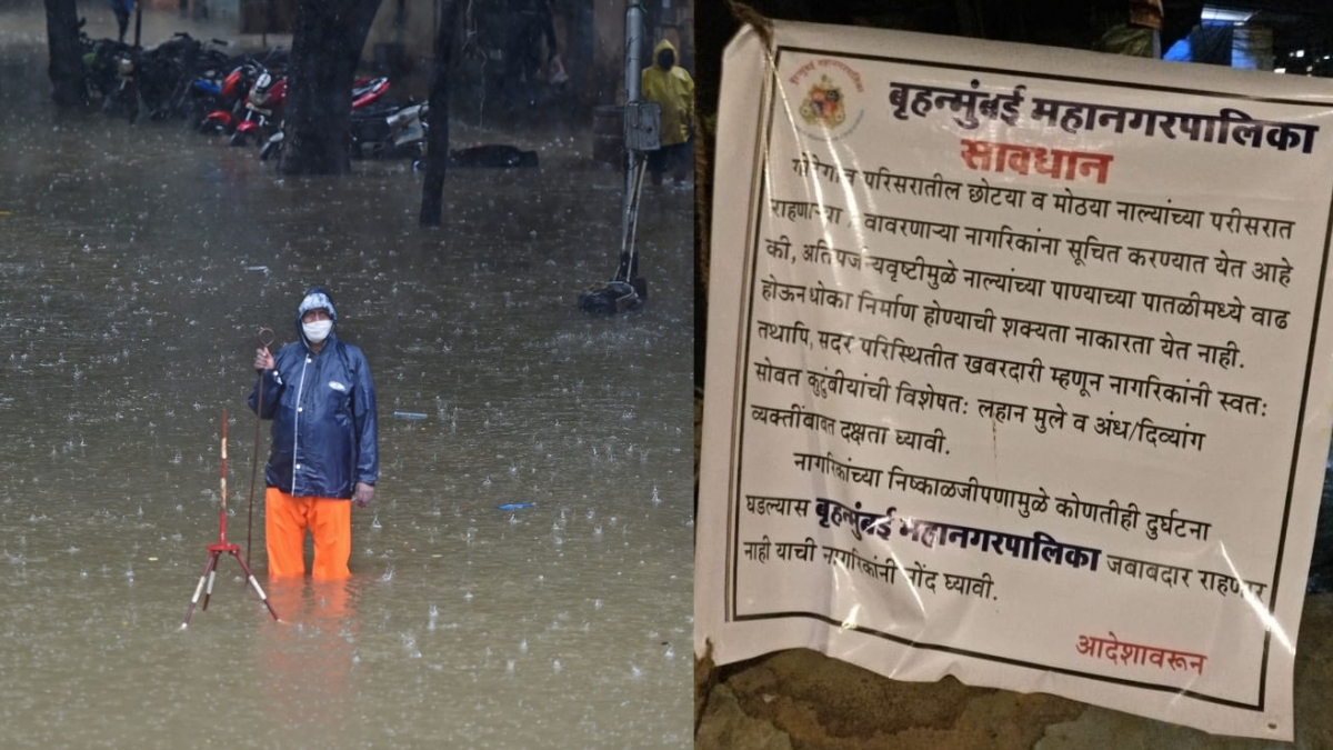 'This is how the criminal BMC works': Twitter after BMC puts posters in Mumbai saying it shouldn't be blamed if a child falls in an open drain