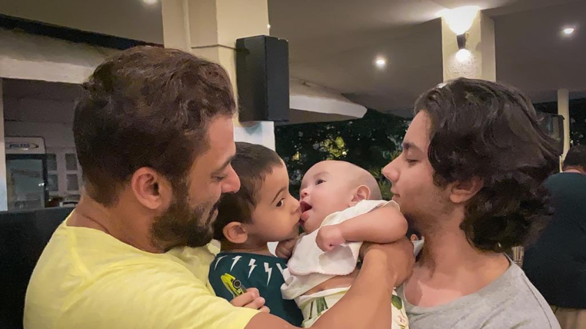 Ayat Sharma turns 1: These pics, videos of Salman Khan's niece are too cute to handle