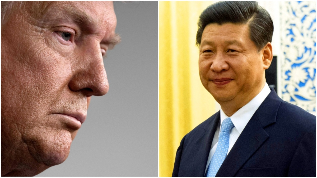 US President Donald Trump and China Premier Xi Jinping