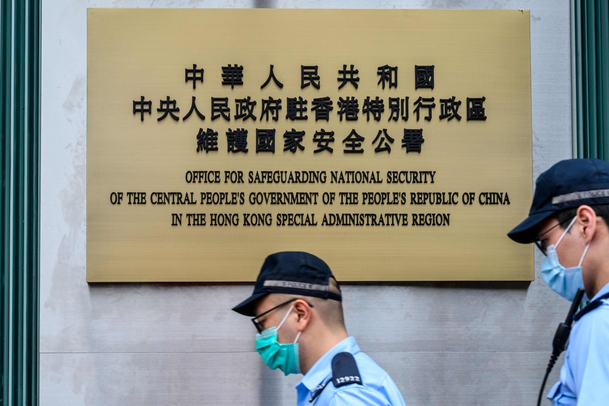 China opens security office in Hong Kong