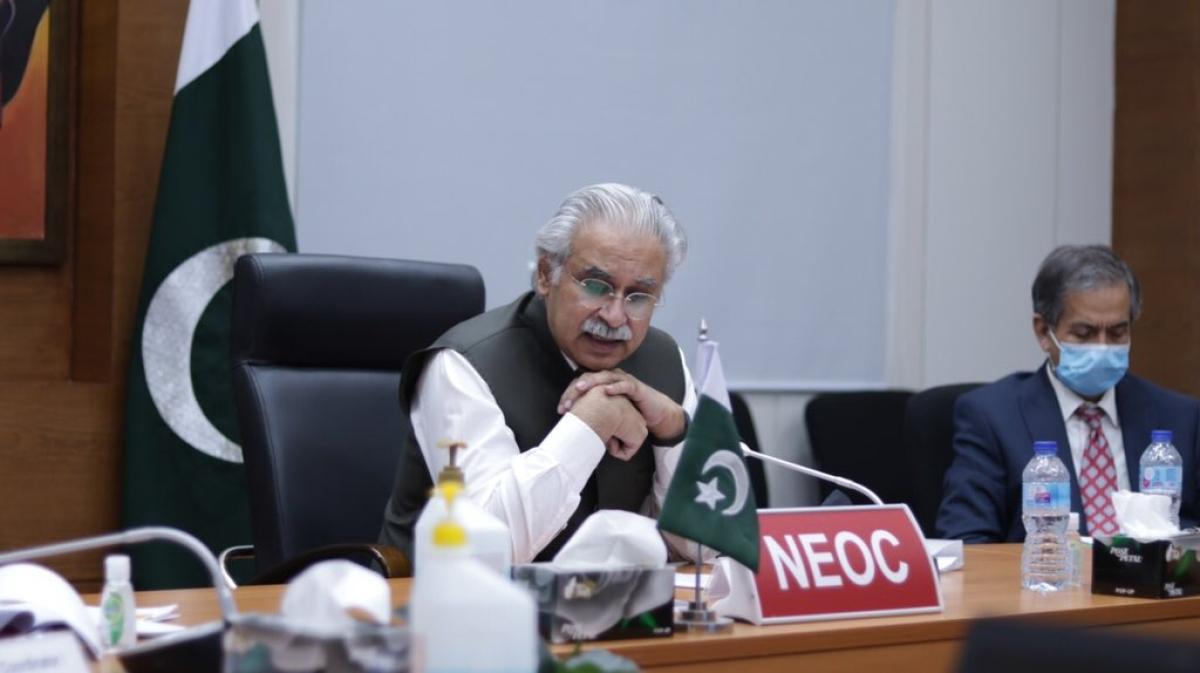 Coronavirus in Pakistan: Health minister Dr Zafar Mirza tests positive for COVID-19