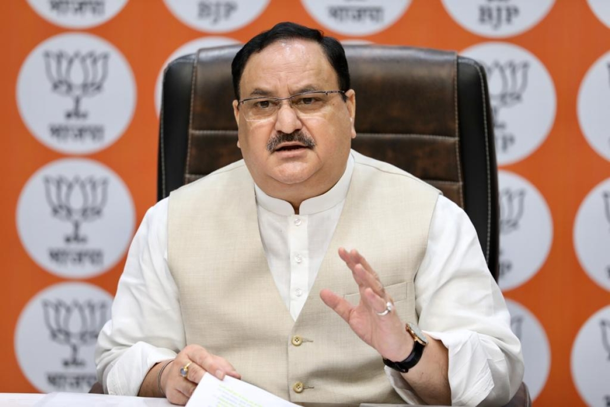 'There is a shameless government in Maharashtra': BJP Prez JP Nadda asks to strengthen IT cell and expose govt's 'failure'