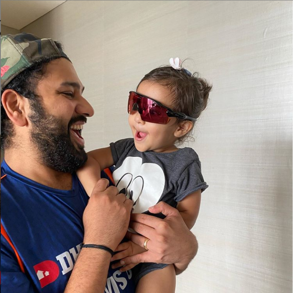 'She wears it better than dada': Rohit Sharma shares adorable picture of Samaira wearing sunglasses
