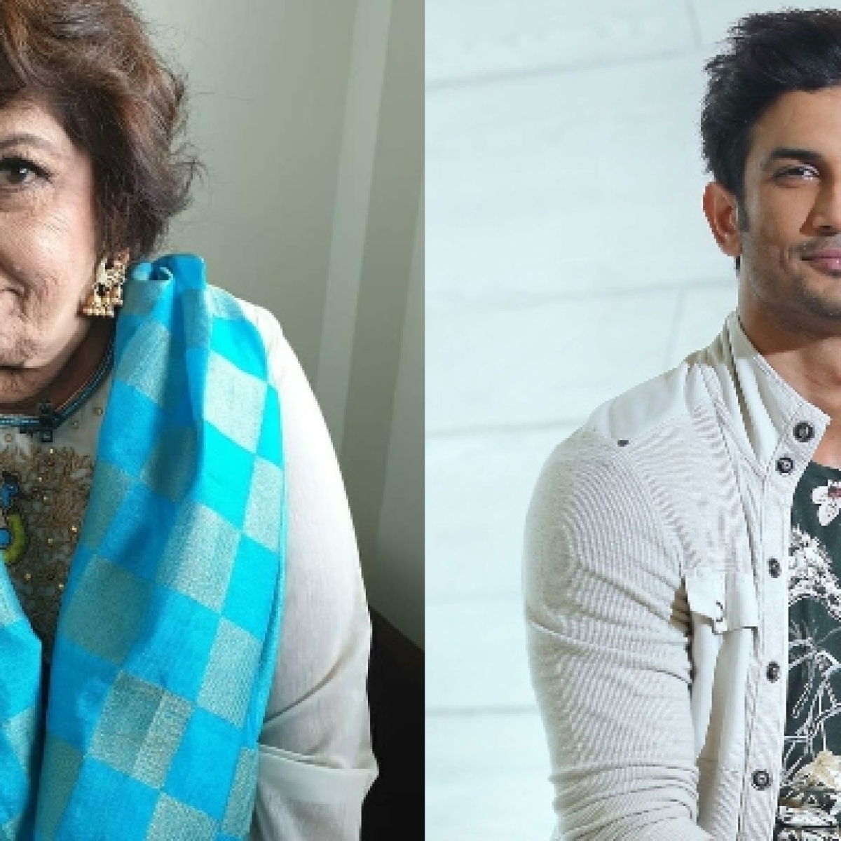 Saroj Khan's last Instagram post has a connection to Sushant Singh Rajput