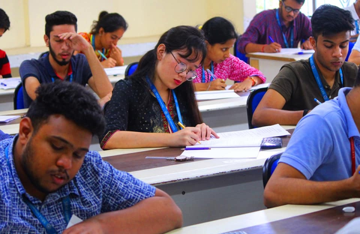 SRM provides incredible options to study abroad for students with SAT scores