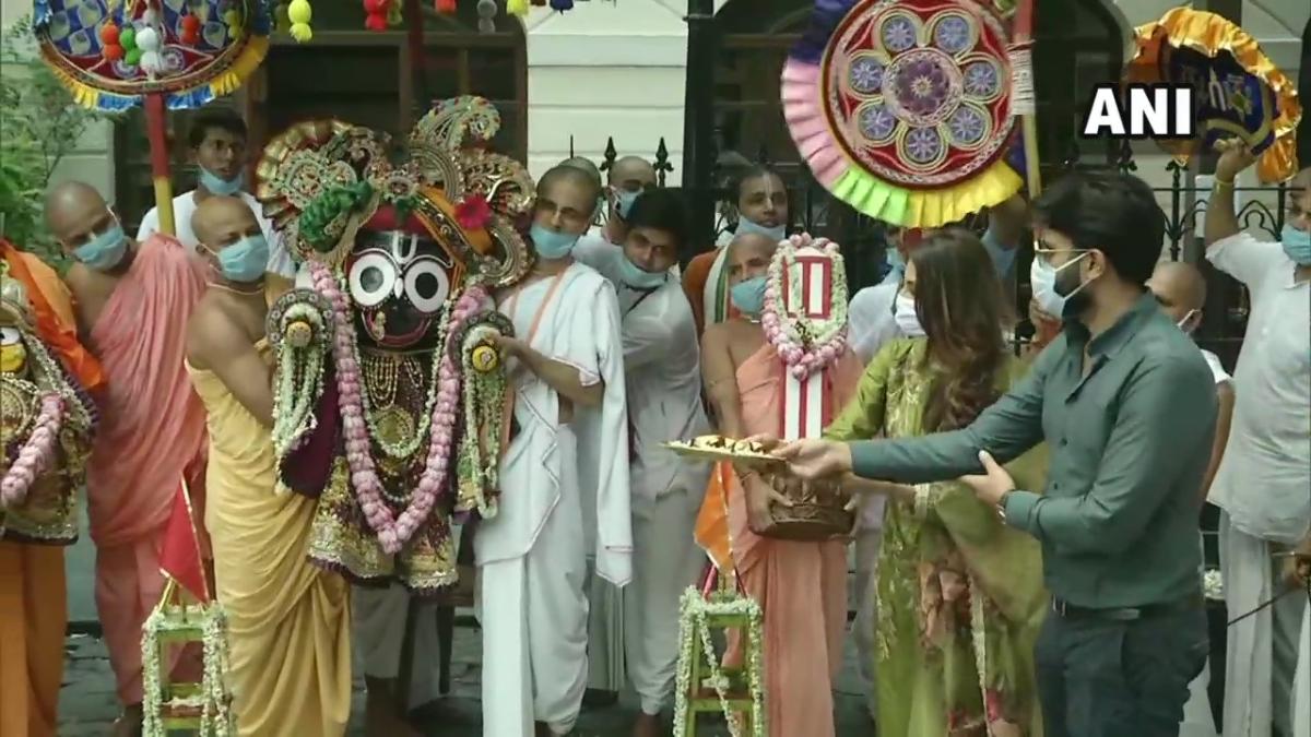 'I'm expecting another fatwa maybe...': TMC MP Nusrat Jahan joins ISKCON's Rath Yatra celebrations in Kolkata