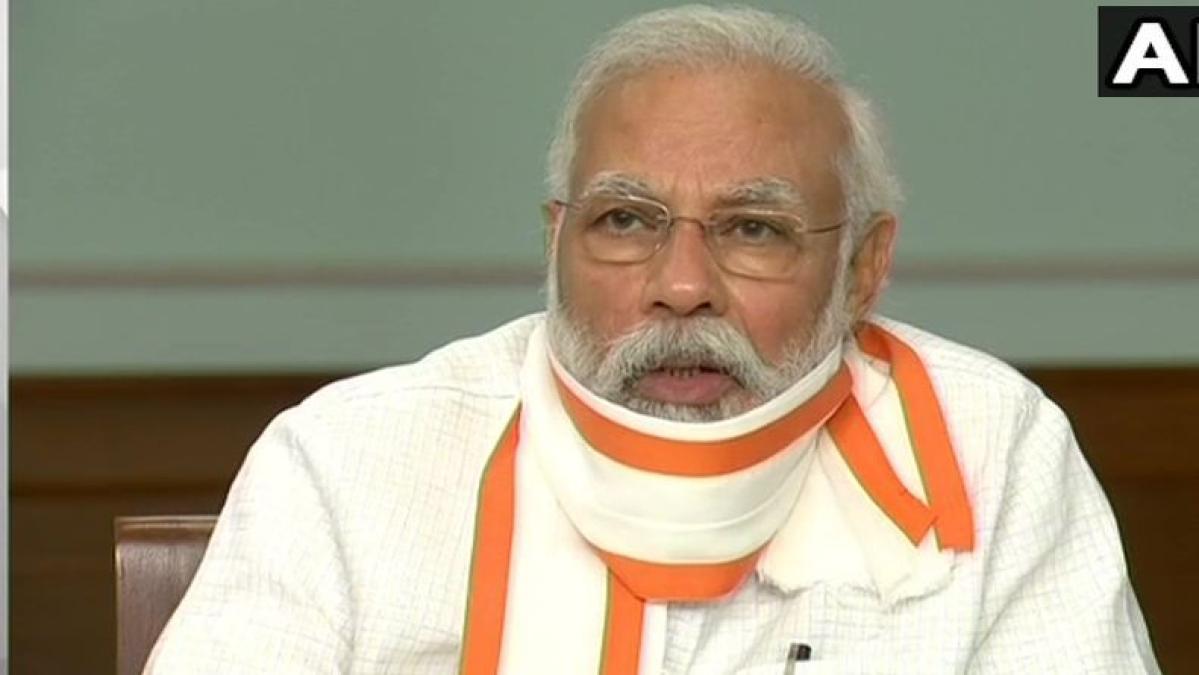 PM Modi lauds welfare measures undertaken by BJP during COVID-19 lockdown