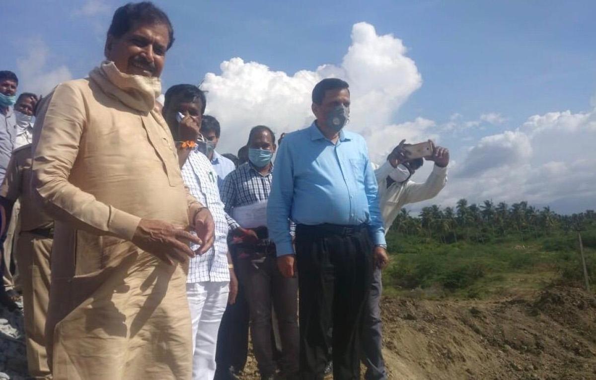 Suresh Angadi, MOSR conducts inspection on SWR