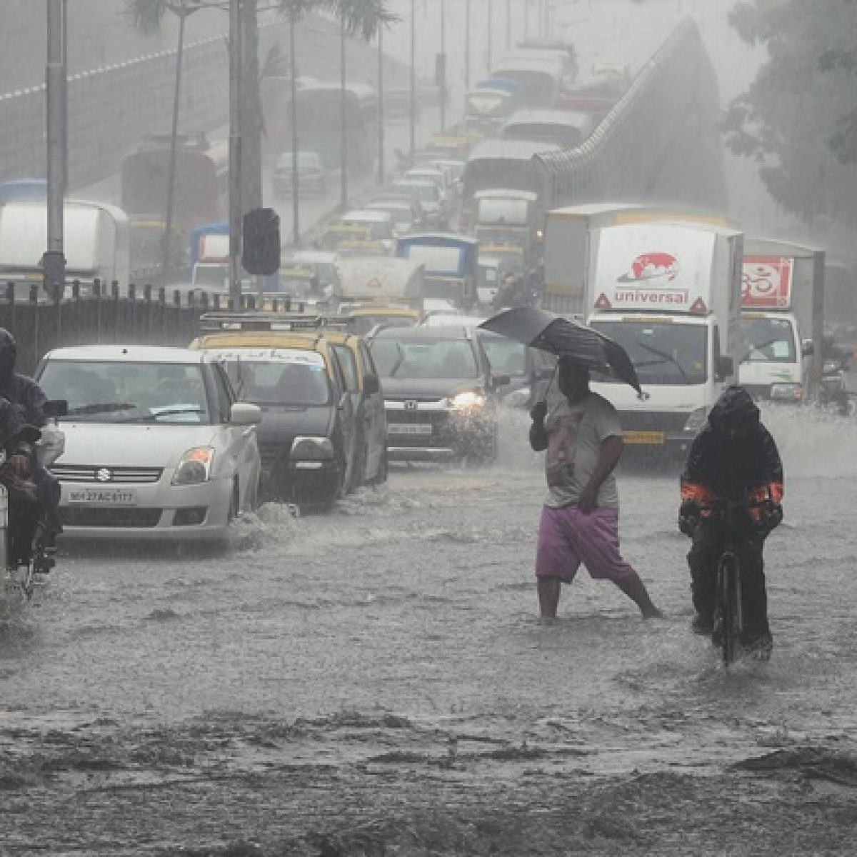 Mumbai Rains: IMD issues red alert for city, says heavy to very heavy rainfall possible today