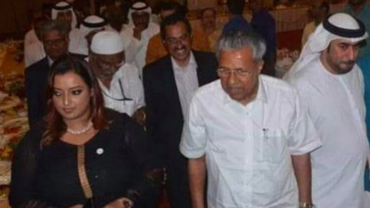 Kerala gold smuggling: NIA nabs Swapna and Sandeep in B'luru