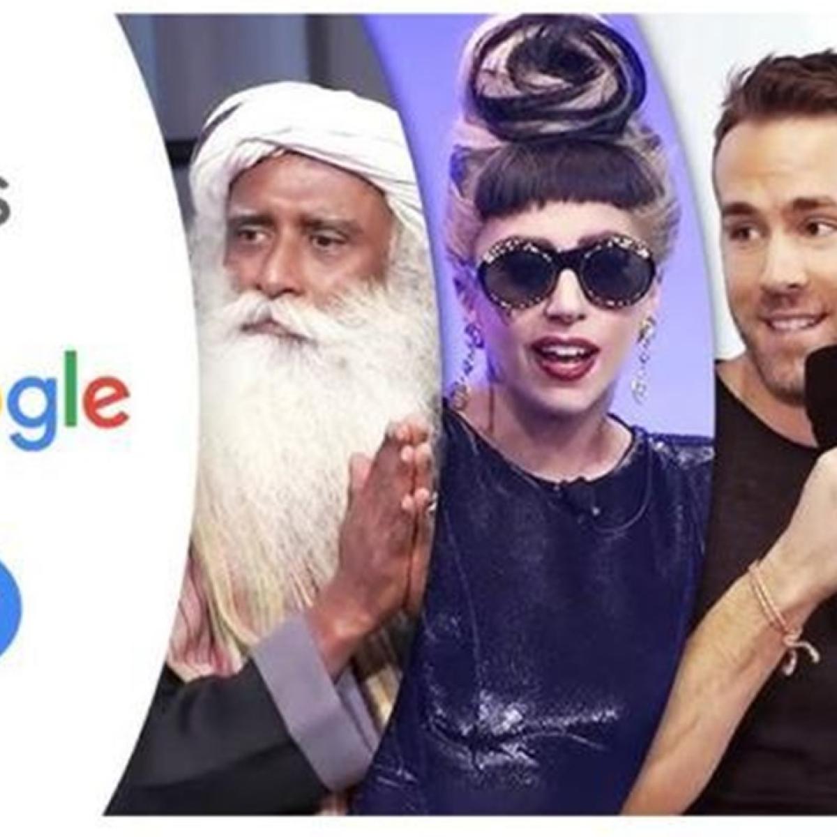 Sadhguru, Shah Rukh Khan, Madhuri Dixit among Top 20 most-watched 'Talks At Google'