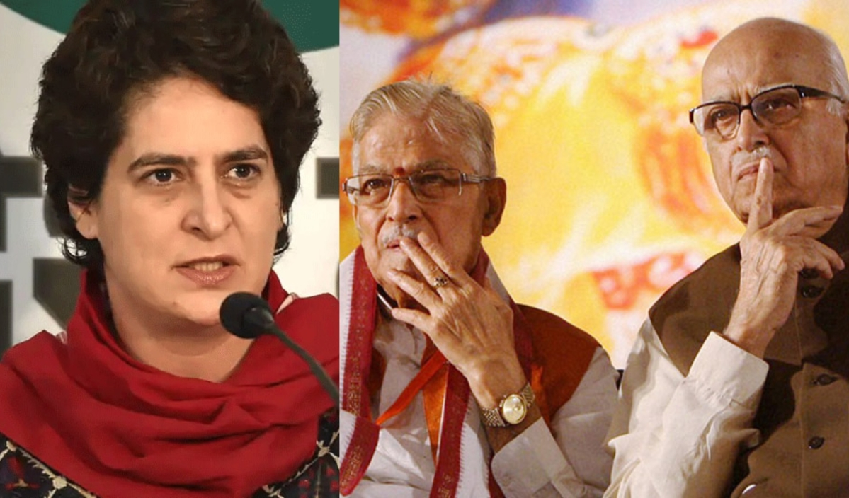 Priyanka Gandhi evicted: Will LK Advani, Murli Manohar Joshi also be asked to leave their Lutyens' bungalows?