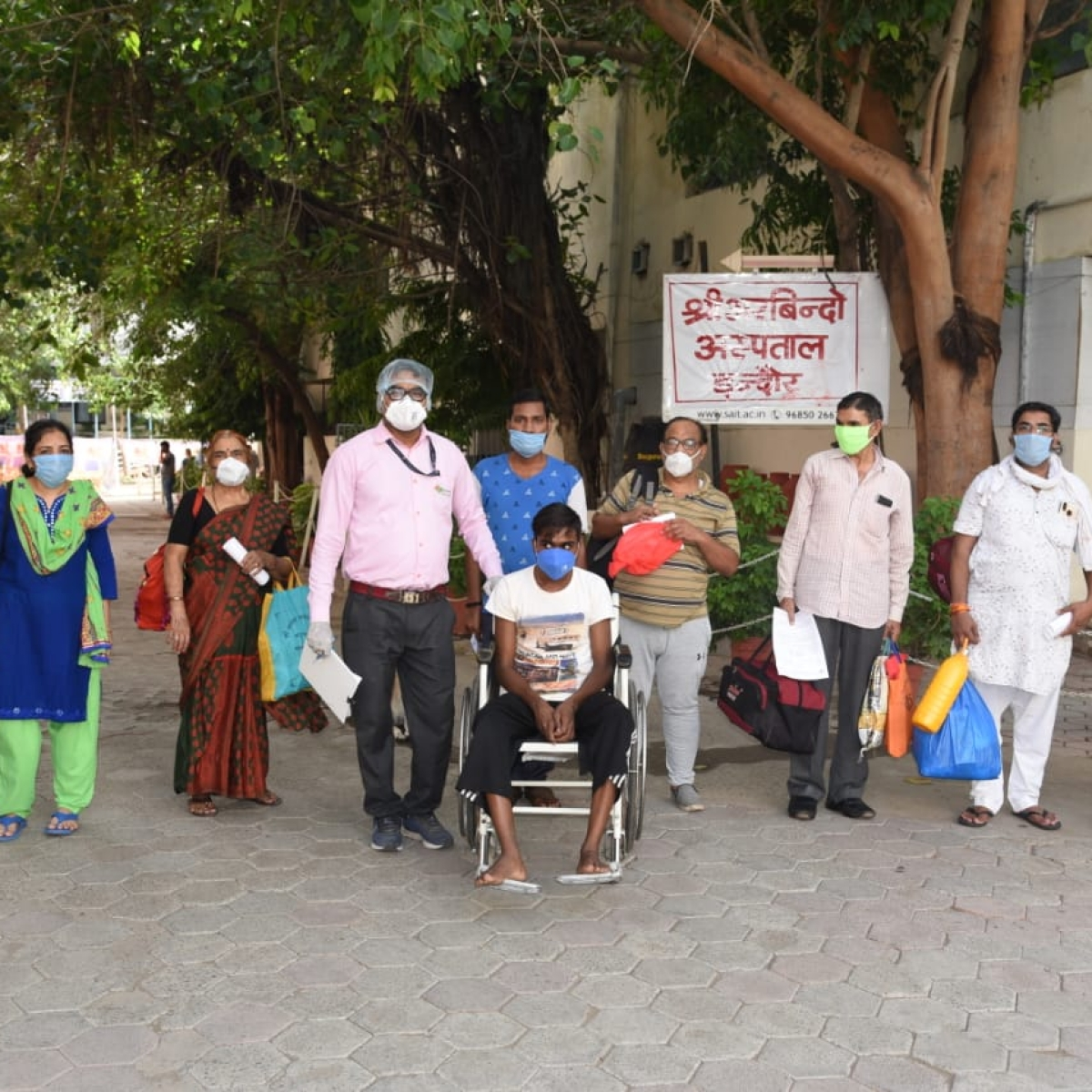 Coronavirus in Indore: 29 more discharged, recovery rate over 75 percent