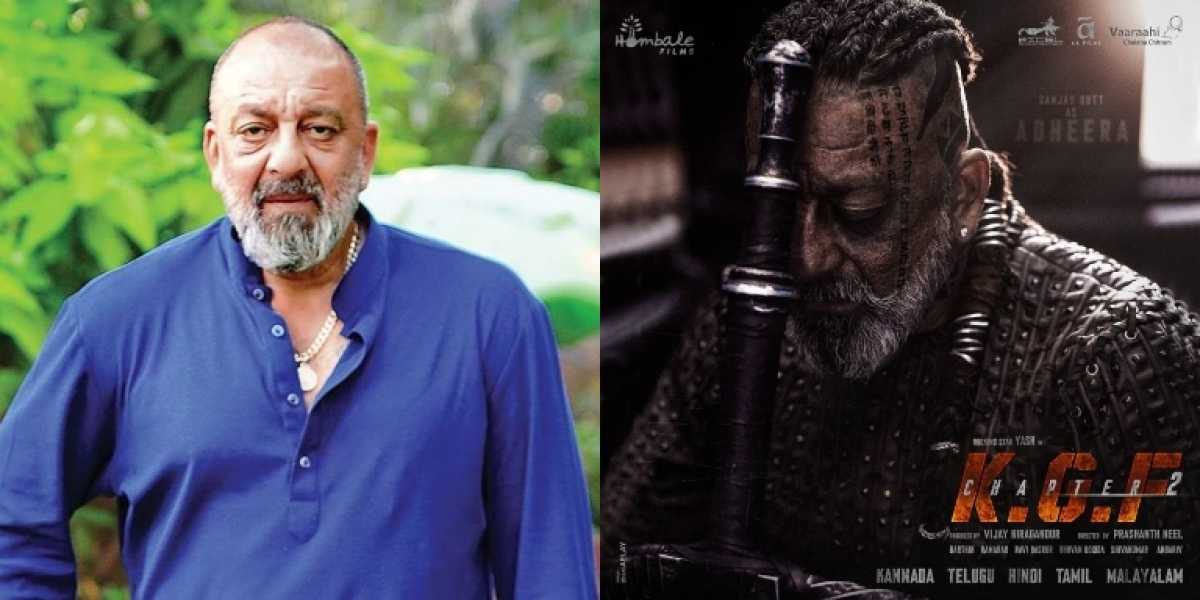 Makers of 'KGF: Chapter 2' release Sanjay Dutt's character poster on his 61st birthday