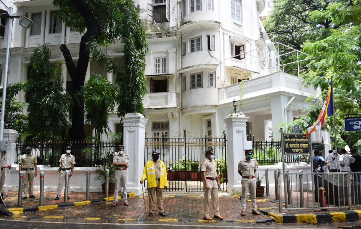 Mumbai: Cops promise reward on information of culprit who vandalised BR Ambedkar's residence Rajgruh
