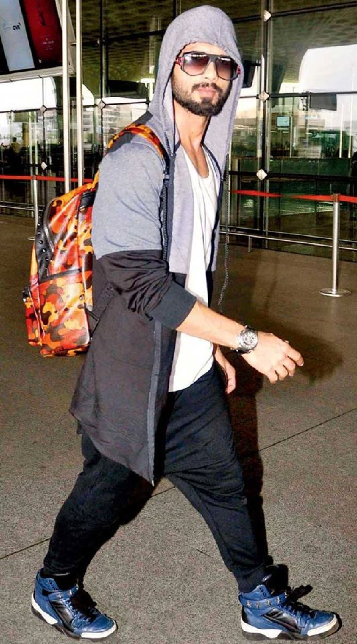 Shahid Kapoor shows how to rock a hoodie