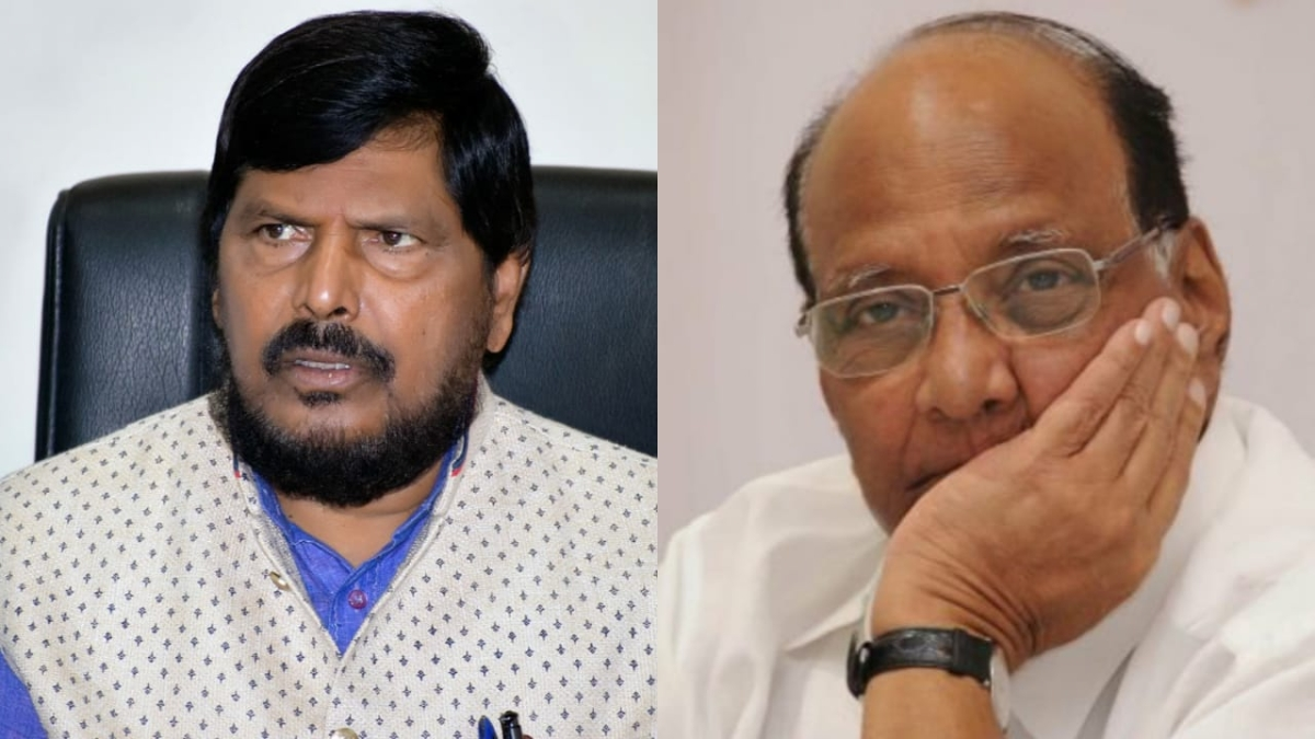 'If Shiv Sena doesn't come back, NCP should join NDA': Ramdas Athawale promises Sharad Pawar 'big post'