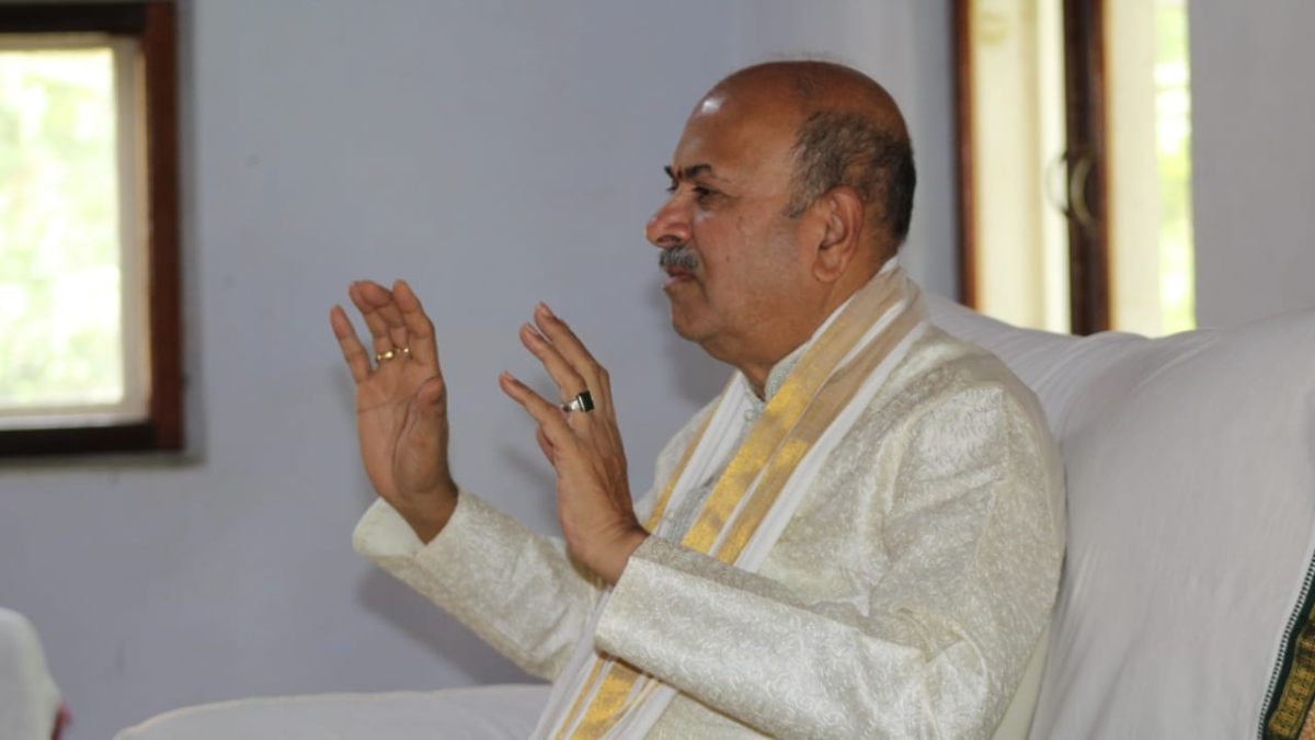 Metta or Karuna Meditation: NJ Reddy, founder of Yoga Prana Vidya