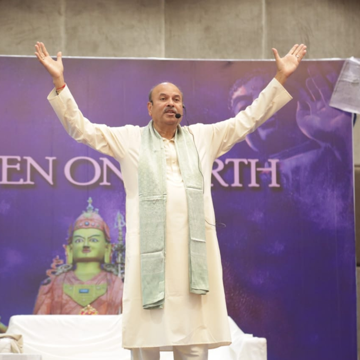 The Great Invocation: NJ Reddy, founder of Yoga Prana Vidya