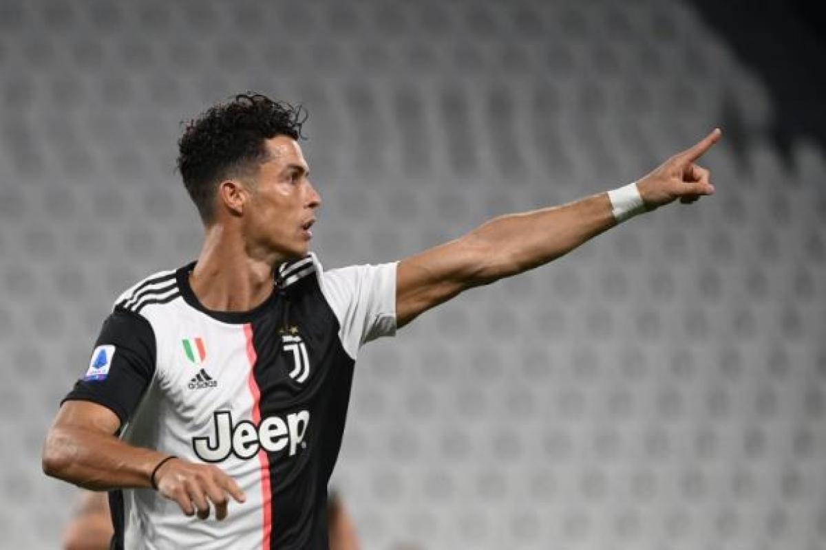 Ronaldo strikes twice for Juventus