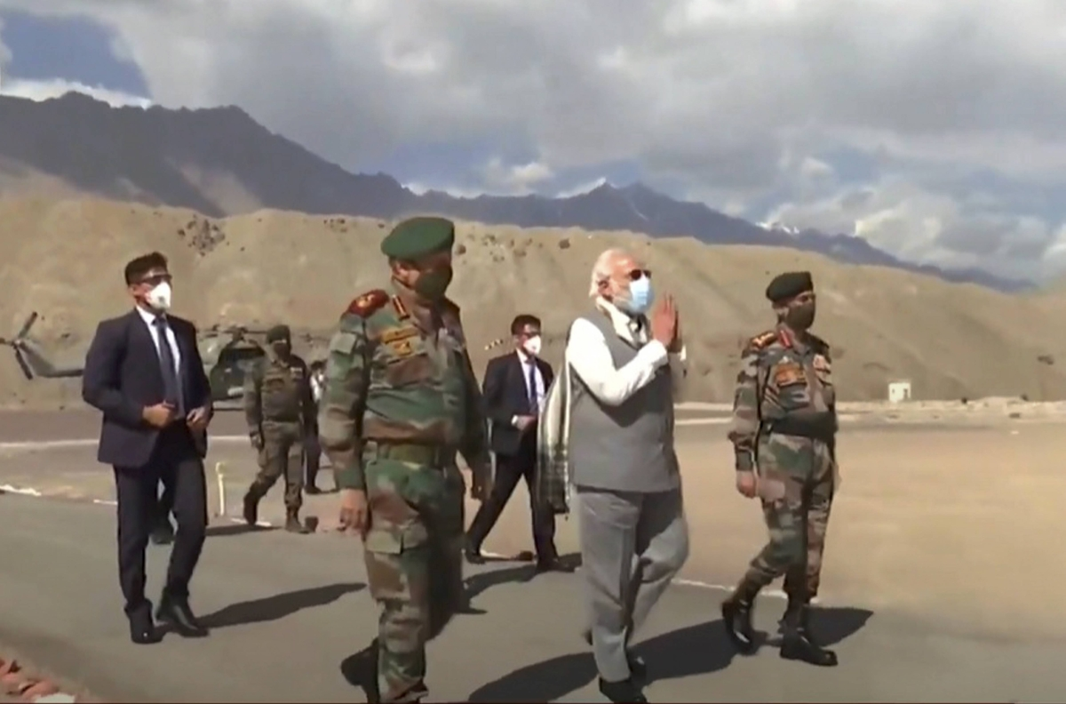Watch: PM Narendra Modi's speech to armed forces in Ladakh's Nimu