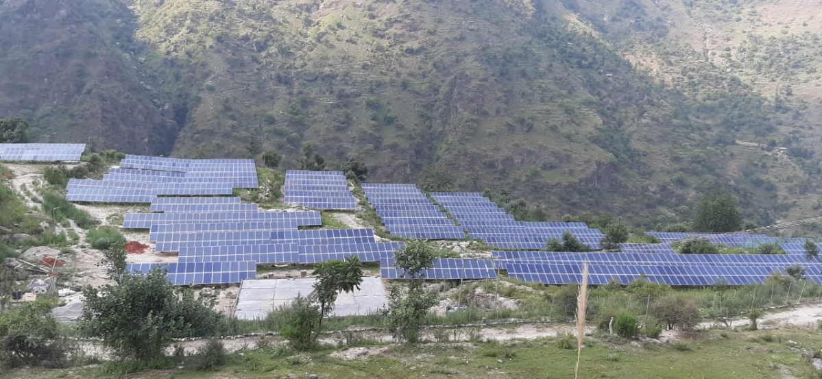 CEL energises 1 MW solar power plant in Wadhal village
