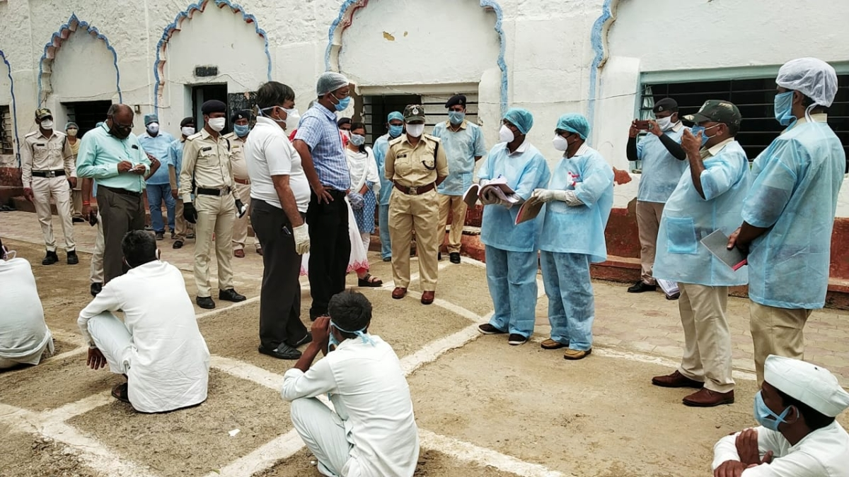 File Photo/ Ujjain: Collector suspends Bhairavgarh jail doctor for negligence after 8 inmates test positive