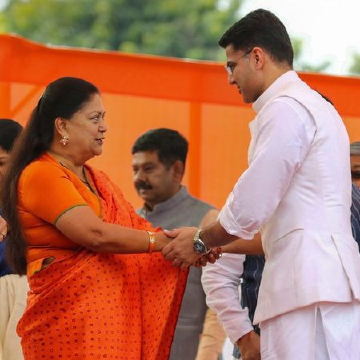 Sachin Pilot Row: BJP ally Hanuman Beniwal says Vasundhara trying to 'save' Ashok Gehlot's government