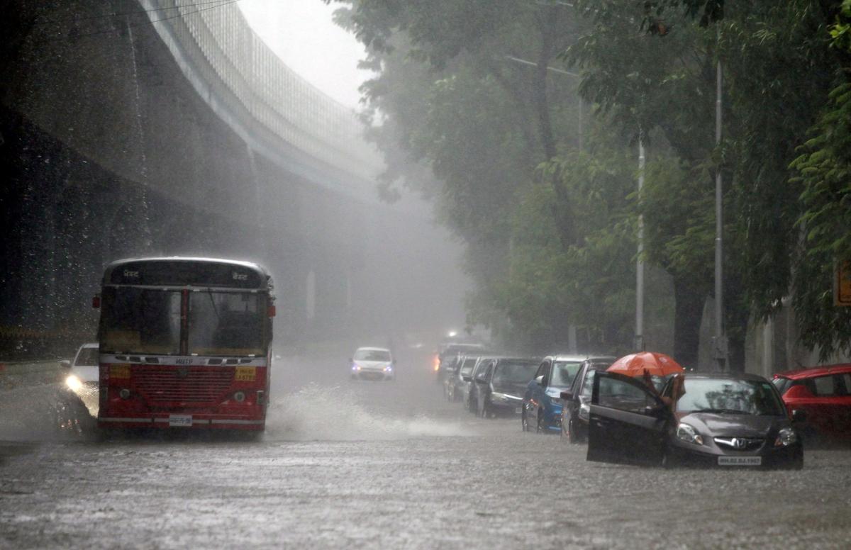 Mumbai Rains: Heavy rainfall lashes city for second consecutive day