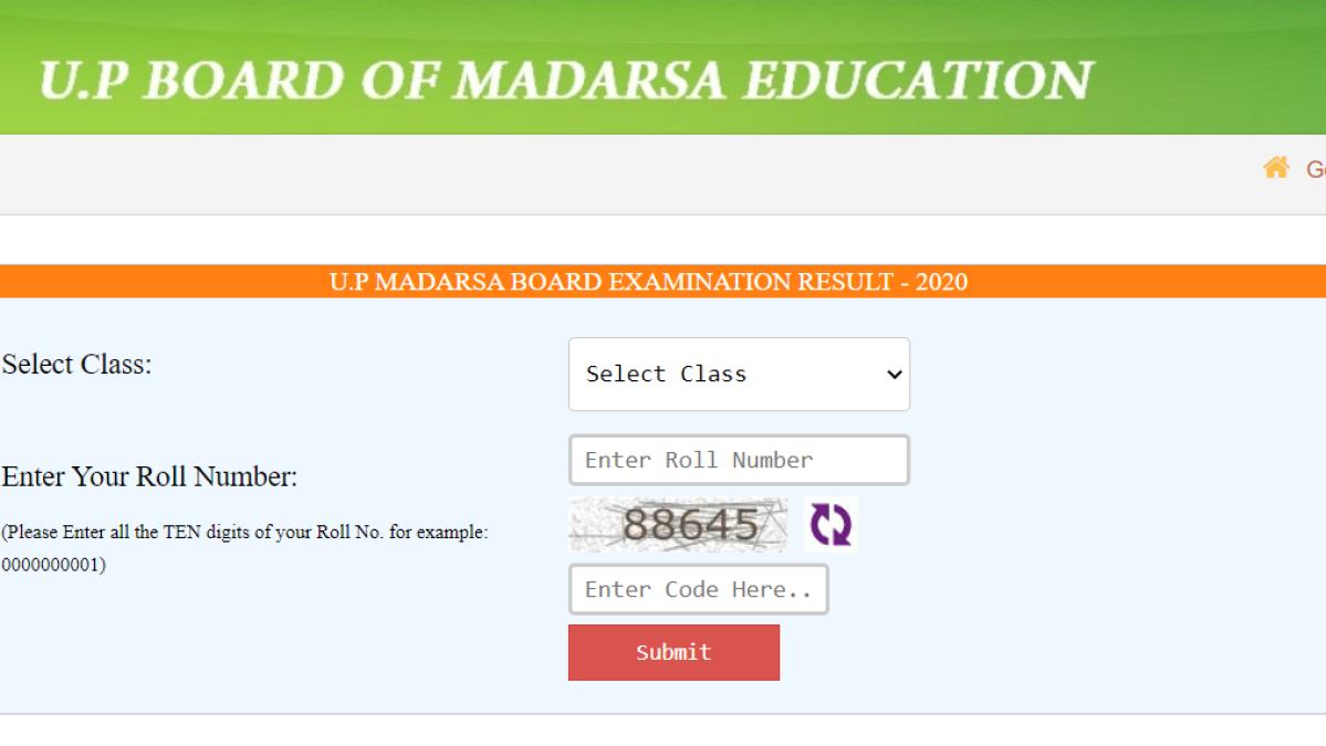 UP Board of Madrasa Education declares Board Result 2020: Check on madarsaboard.upsdc.gov.in