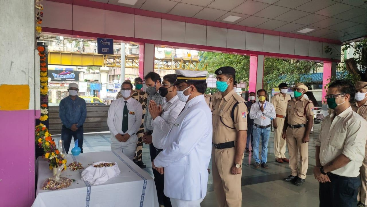 Western Railway pays tributes to the departed souls of the 7/11 train bomb blast victims