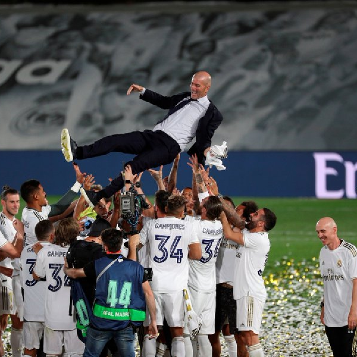 Zinedine Zidane completes 100 La Liga wins as Real Madrid head coach