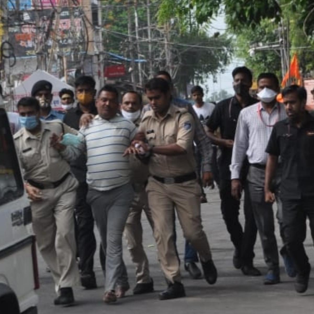 Presser Pressure: Tulsi Silawat, Shankar Lalwani in spot over Vikas Dubey encounter 'bytes'