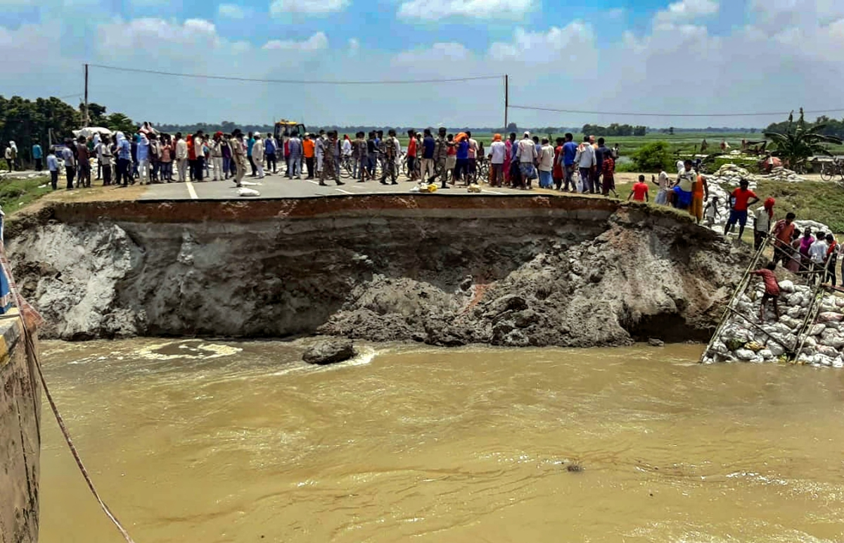 Opposition blames Bihar govt over 'bridge collapse' reports; seeks probe