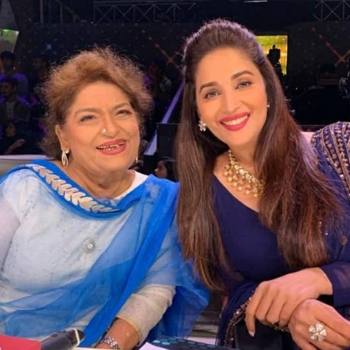 Madhuri Dixit recalls working with late Saroj Khan in 'Devdas'