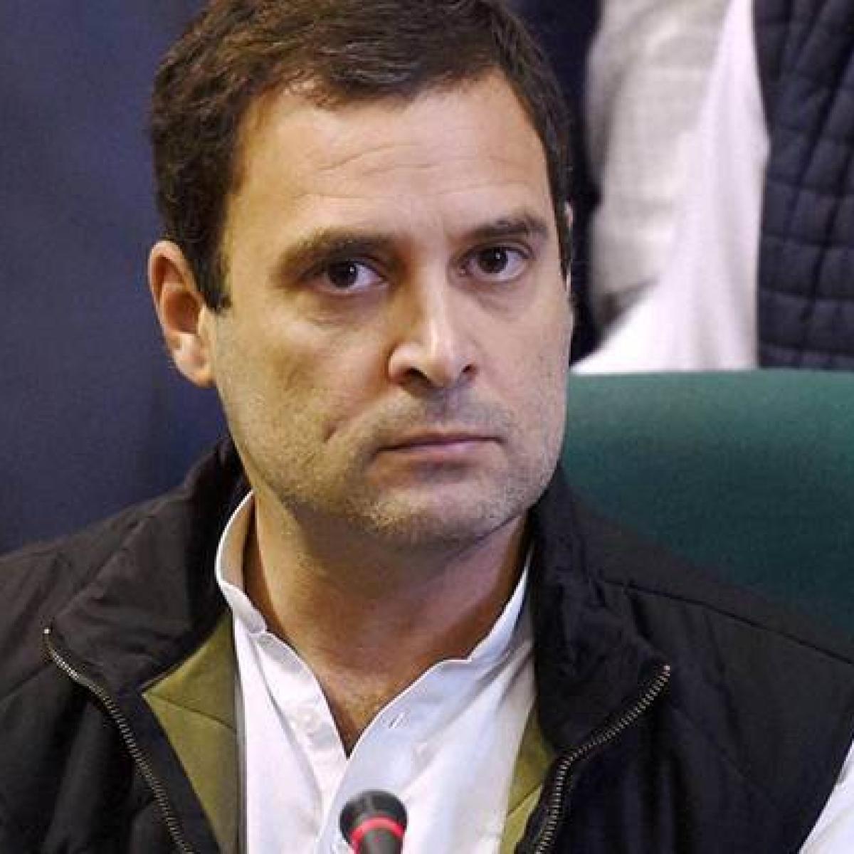 India reeling under 'Modi-made disasters': Rahul Gandhi