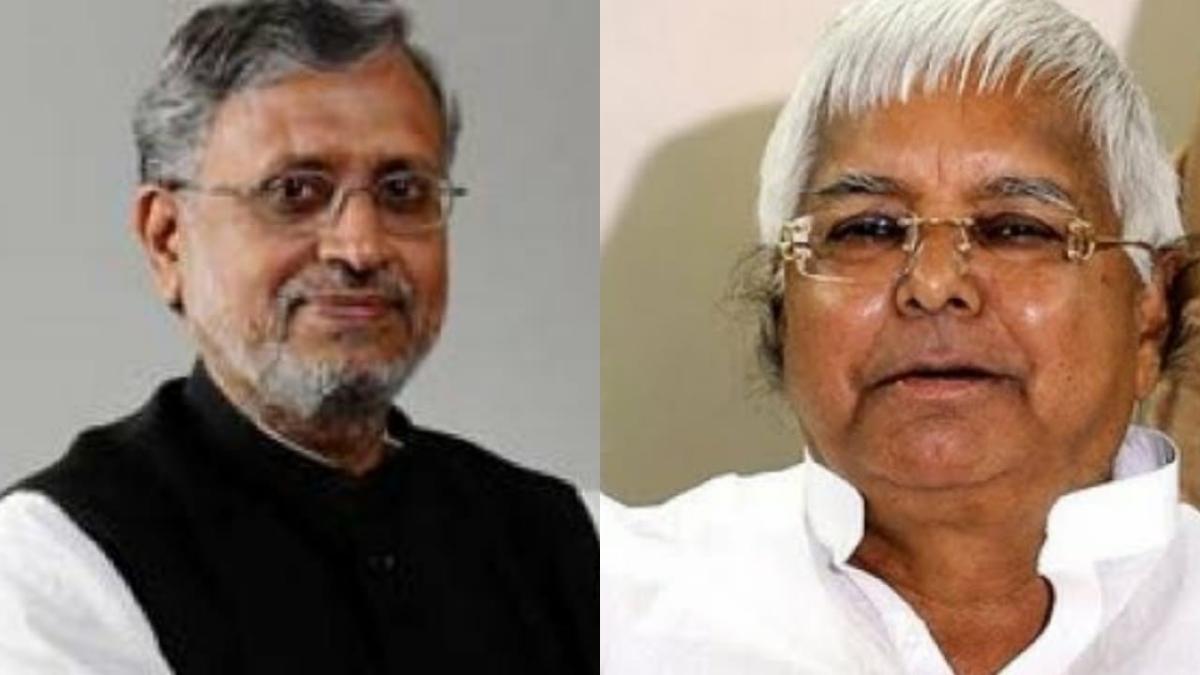 'Nehru for Bihar': Twitter wonders why Sushil Modi bashing Lalu despite being in power since 2005