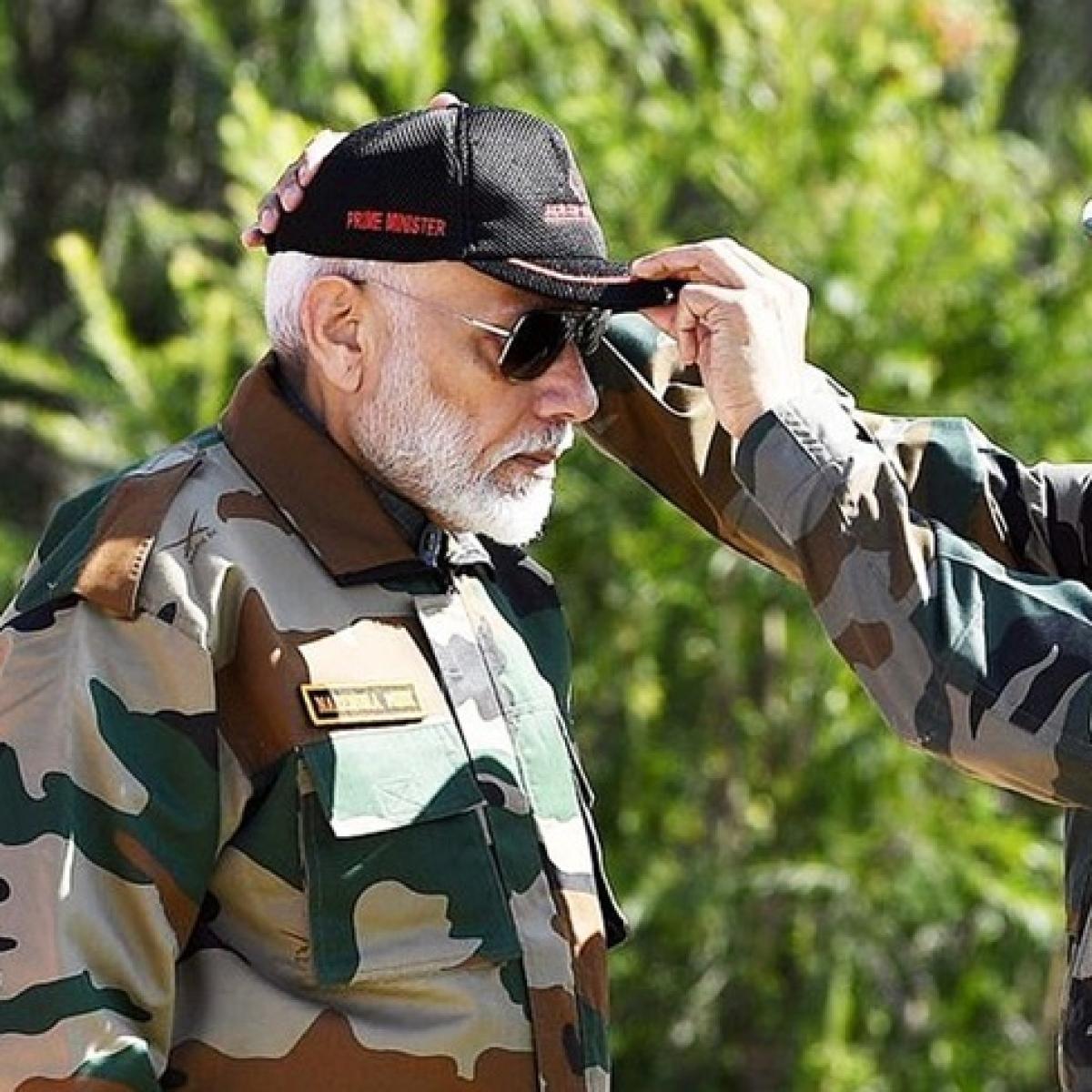'No one does it better than him': BJP hails PM Modi's Ladakh visit