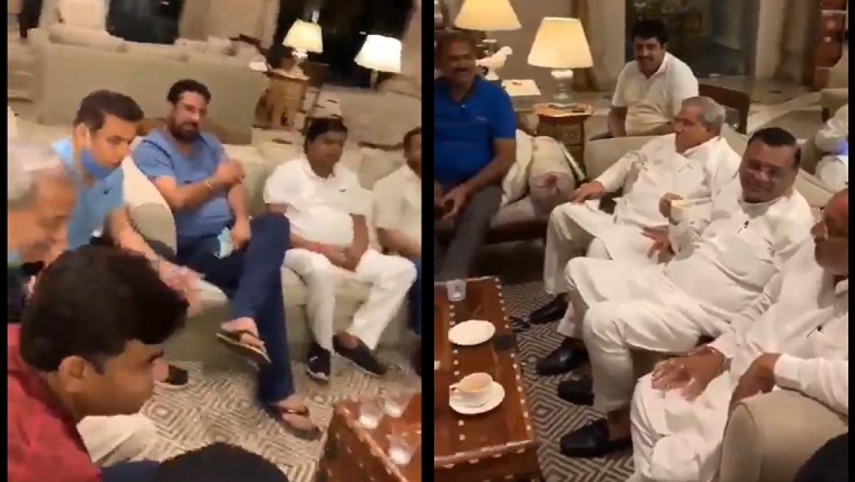 Rajasthan Political Crisis: 'Hum Honge Kamyab Ek Din', sing Congress MLAs staying in Jaipur hotel