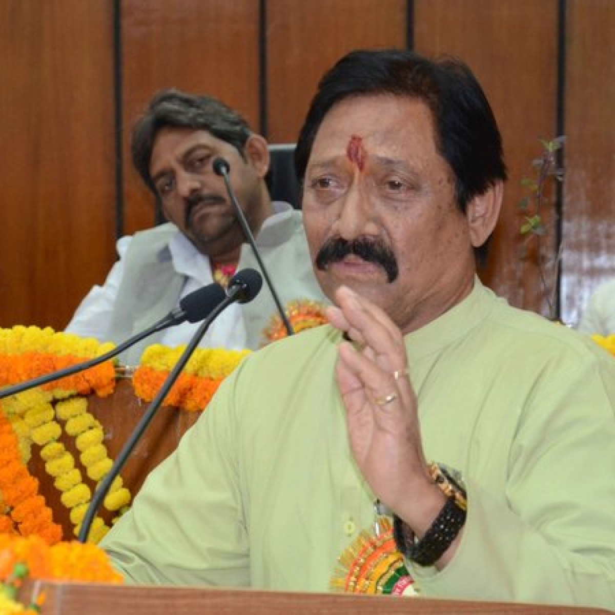 UP Sports minister Upendra Tiwari tests positive for coronavirus