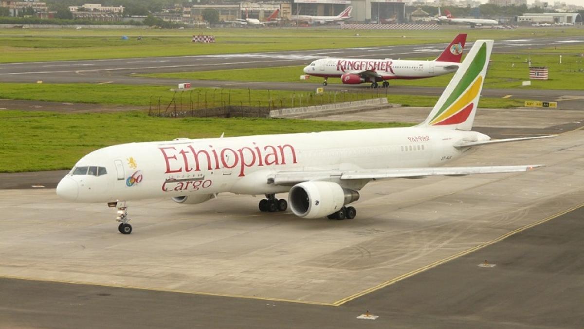 Ethiopian Airlines Boeing 757-200F