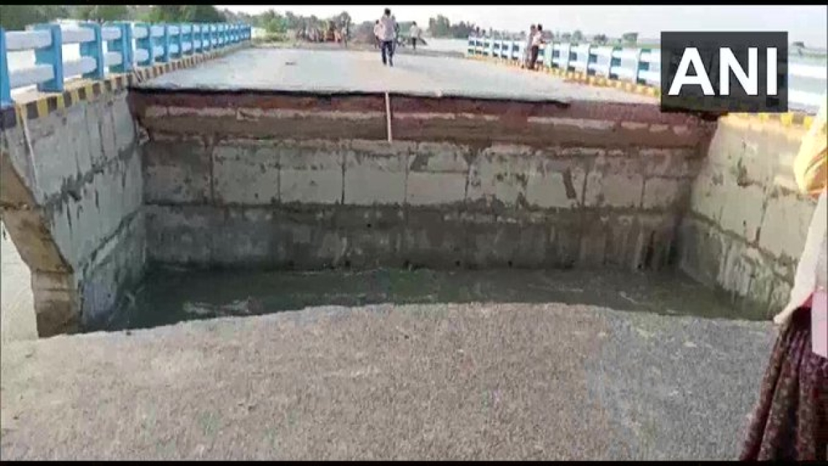 Battle of Bridges: After ANI claims portion of Sattarghat Bridge collapsed, Bihar Minister issues clarification
