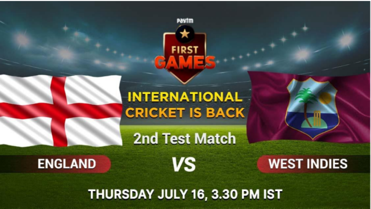 England vs West Indies: Paytm First Games Fantasy Prediction: 2nd Test Match